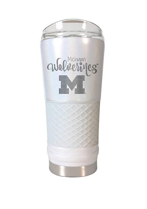 NCAA Michigan Wolverines 24 Ounce Opal Draft Tumbler