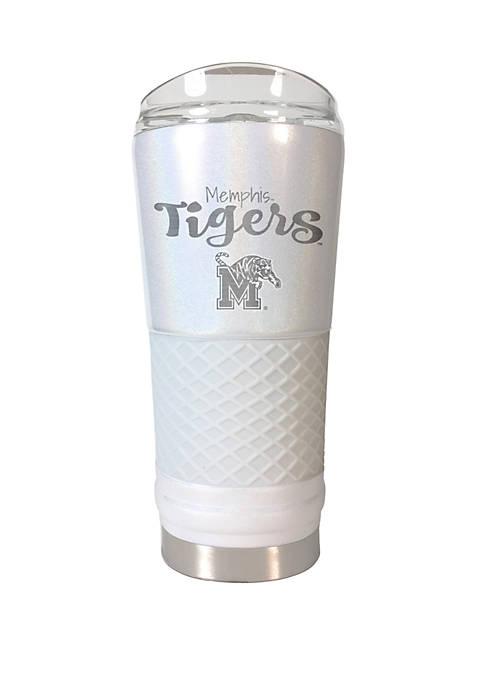NCAA Memphis Tigers 24 Ounce Opal Draft Tumbler