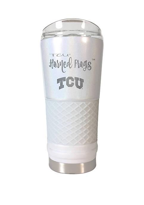 NCAA TCU Horned Frogs 24 Ounce Opal Draft Tumbler