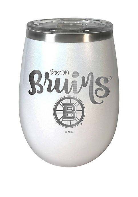 NHL Boston Bruins 12 Ounce Opal Wine Tumbler