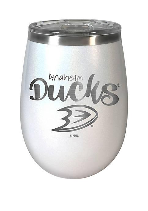 NHL Anaheim Ducks 12 Ounce Opal Wine Tumbler