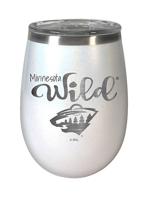 NHL Minnesota Wild 12 Ounce Opal Wine Tumbler