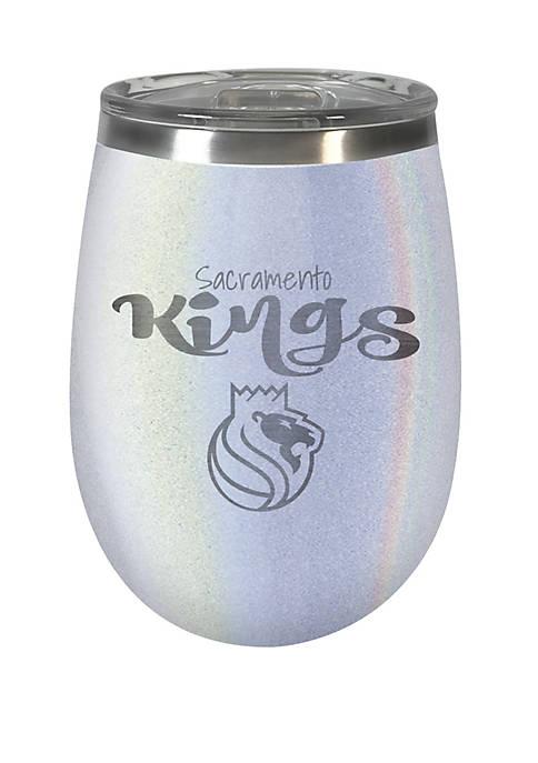 NBA Sacramento Kings 12 Ounce Opal Wine Tumbler