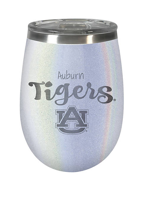 NCAA Auburn Tigers 12 Ounce Opal Wine Tumbler