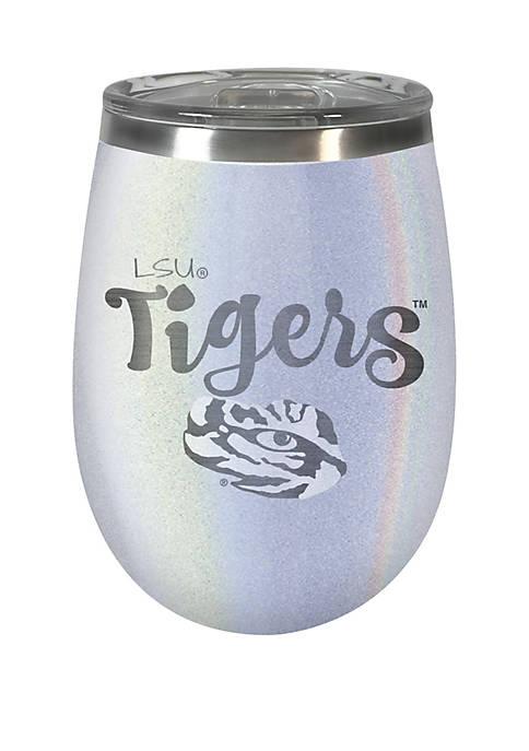 NCAA LSU Tigers 12 Ounce Opal Wine Tumbler