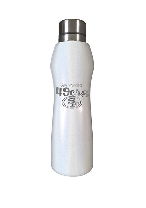 NFL San Francisco 49ers 20 Ounce Opal Hydration Water Bottle