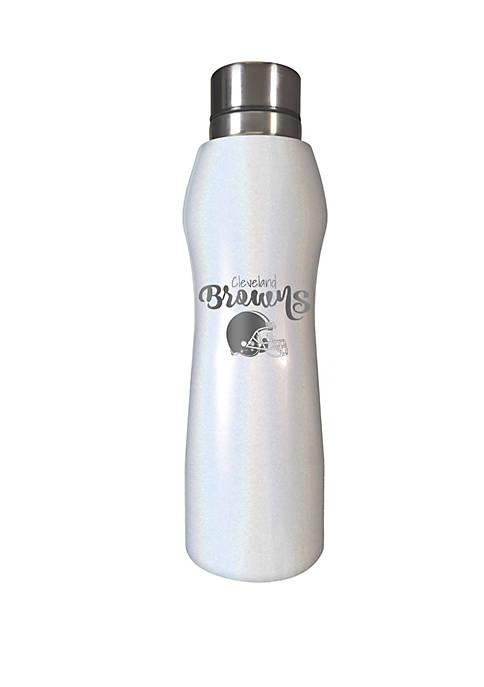 NFL Browns 20 Ounce Opal Hydration Water Bottle
