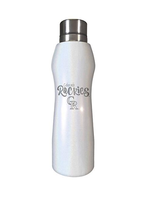 MLB Colorado Rockies 20 Ounce Opal Hydration Water Bottle
