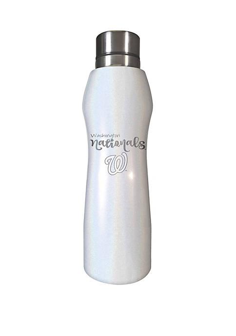 MLB Washington Nationals 20 oz Opal Hydration Water Bottle