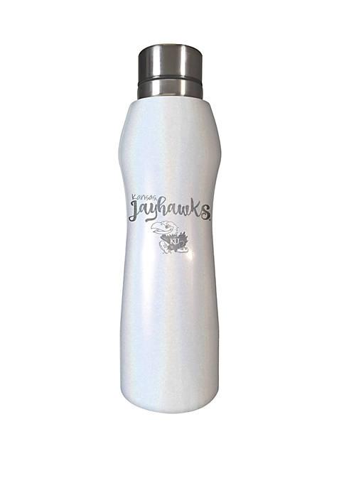 NCAA Kansas Jayhawks 20 Ounce Opal Hydration Water Bottle