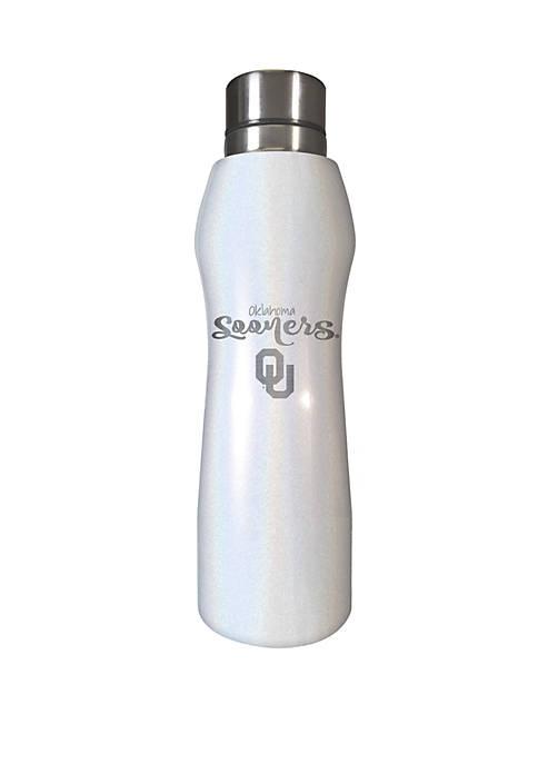 NCAA Oklahoma Sooners 20 Ounce Opal Hydration Water Bottle