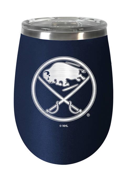NHL Buffalo Sabres 10 Ounce  Team Colored Wine Tumbler