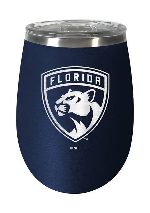 NHL Florida Panthers 10 Ounce  Team Colored Wine Tumbler