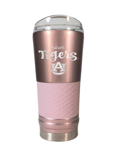 NCAA Auburn Tigers 24 Ounce Rose Gold Draft Tumbler