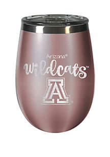 Great American Products 12 oz Rose Gold Wine Tumbler