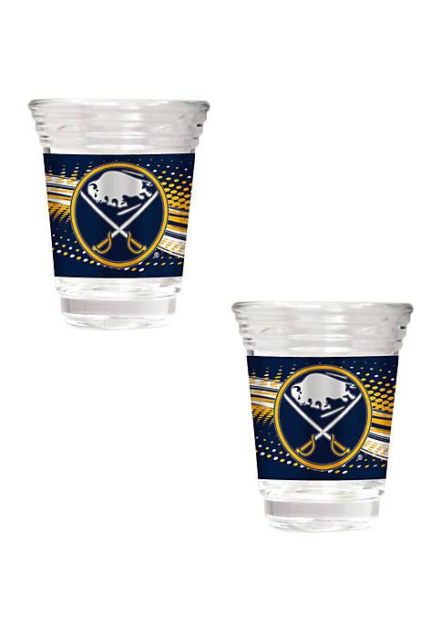 NHL Buffalo Sabres 2 Ounce Party Shot Set