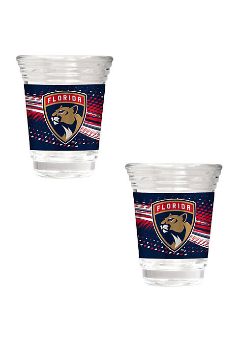 NHL Florida Panthers 2 Ounce Party Shot Set