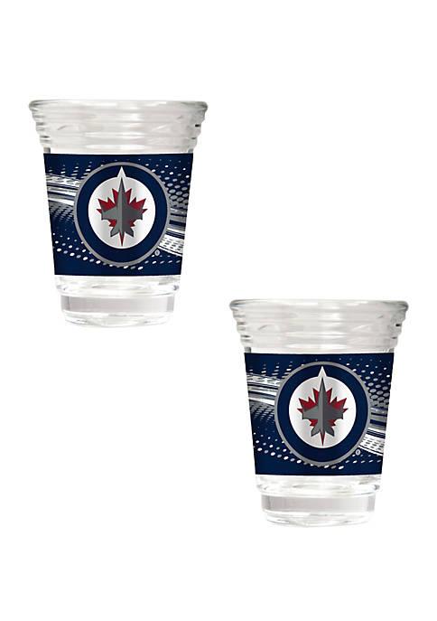 NHL Winnipeg Jets 2 Ounce Party Shot Set