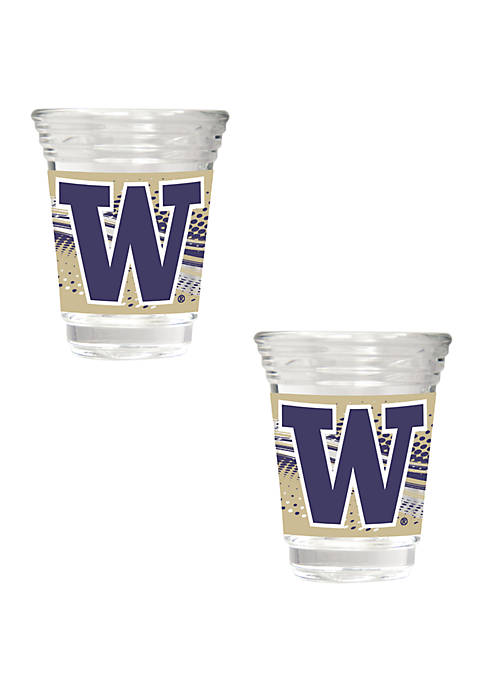 NCAA Washington Huskies 2 Ounce Party Shot Set