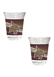 Great American Products NCAA Texas State Bobcats 2 Ounce Party Shot Set