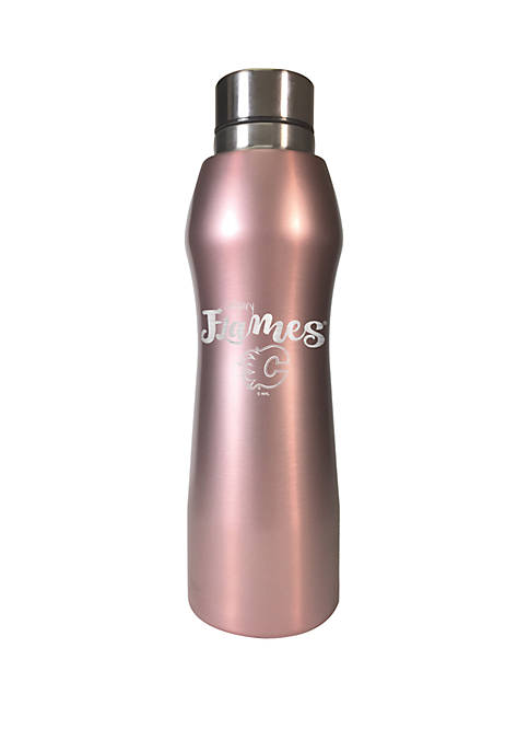 NHL Calgary Flames 20 Ounce Rose Gold Hydration Bottle