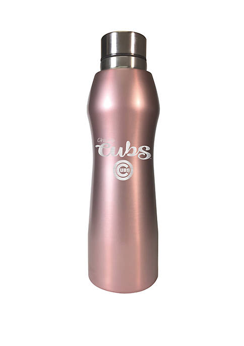MLB Chicago Cubs 20 Ounce Rose Gold Hydration Bottle