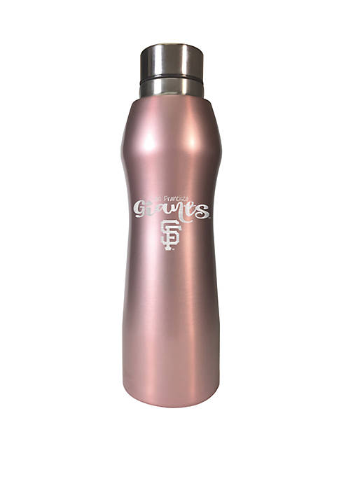 MLB San Francisco Giants 20 Ounce Rose Gold Hydration Bottle