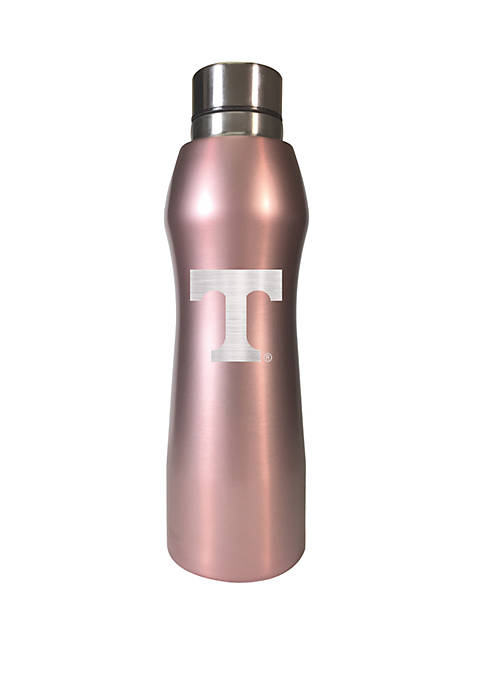 NCAA Tennessee Volunteers 20 Ounce Rose Gold Hydration Water Bottle