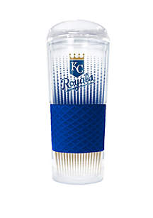 Great American Products MLB Kansas City Royals Rookie 24 Ounce Acrylic Tumbler