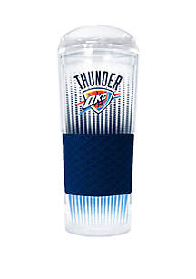 Great American Products NBA Oklahoma City Thunder Rookie 24 Ounce Acrylic Tumbler