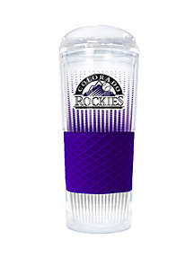 Great American Products MLB Colorado Rockies Rookie 24 Ounce Acrylic Tumbler