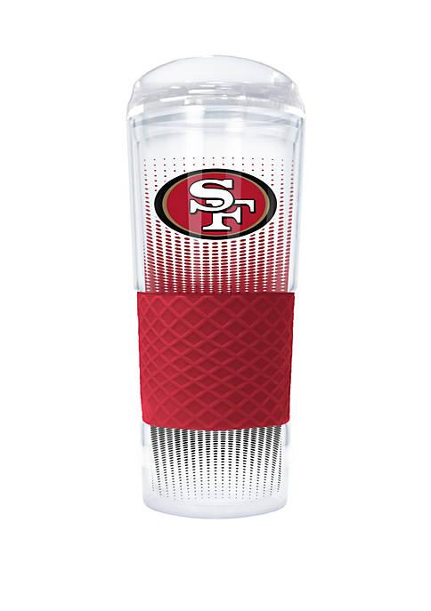 NFL San Francisco 49ers Rookie 24 Ounce Acrylic  Tumbler