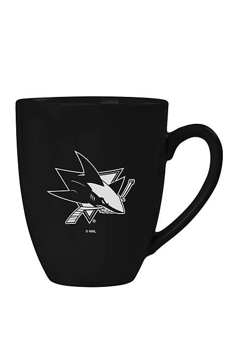 NHL San Jose Sharks 15 Ounce Stealth Bistro Mug