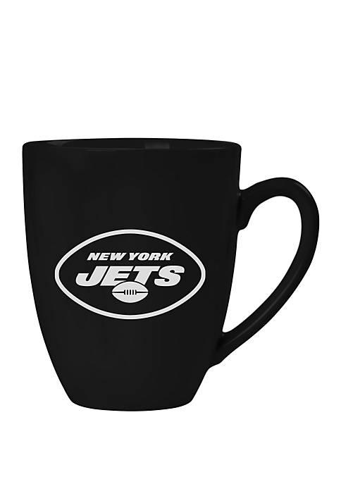 NFL New York Jets 15 Ounce Stealth Bistro Mug