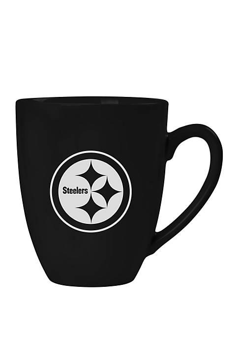 NFL Pittsburgh Steelers 15 Ounce Stealth Bistro Mug
