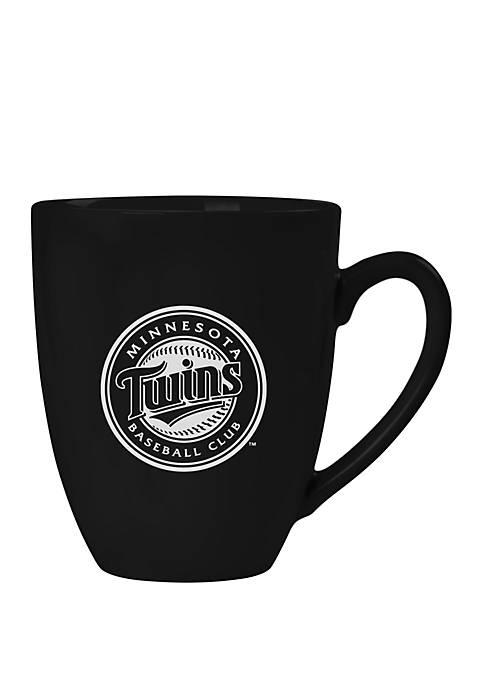 MLB Minnesota Twins 15 Ounce Stealth Bistro Mug