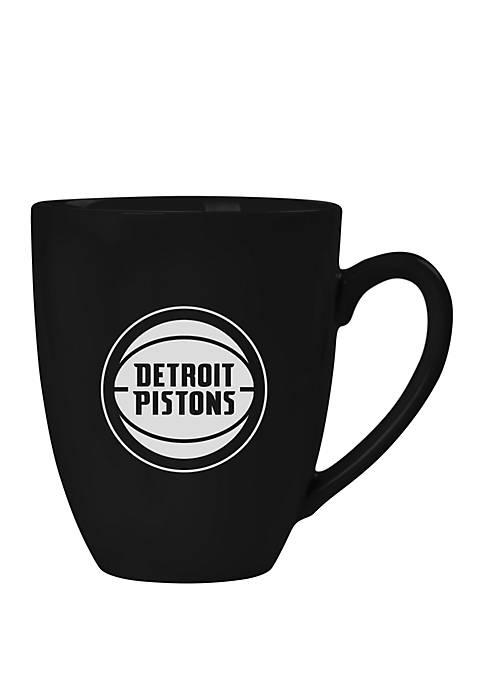 NBA Detroit Pistons 15 Ounce Stealth Bistro Mug