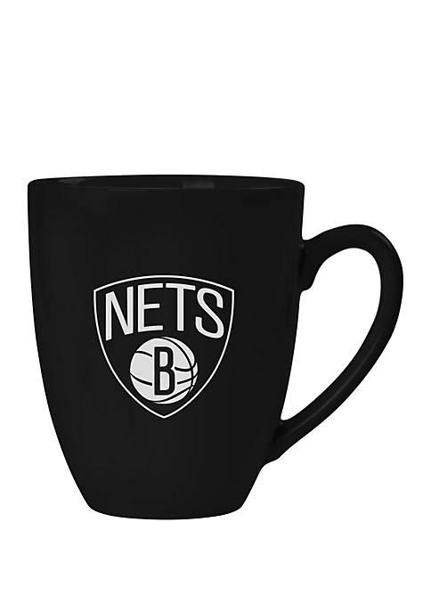 NBA Brooklyn Nets 15 Ounce Stealth Bistro Mug