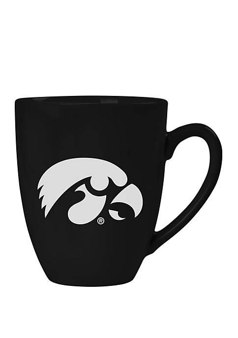 NCAA Iowa Hawkeyes 15 Ounce Stealth Bistro Mug