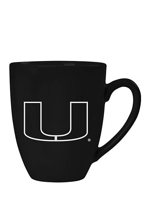 NCAA Miami (FL) Hurricanes 15 Ounce Stealth Bistro Mug