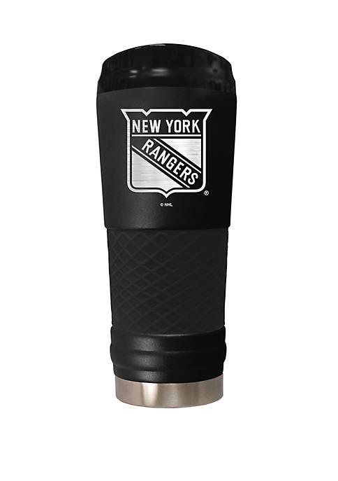 NHL New York Rangers 24 Ounce Stealth Draft Tumbler