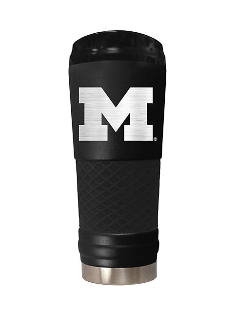 NCAA Michigan Wolverines 24 Ounce Stealth Draft Tumbler