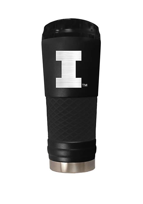 NCAA Illinois Fighting Illini 24 Ounce Stealth Draft Tumbler