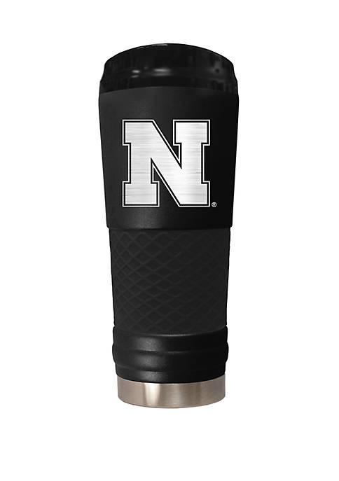NCAA Nebraska Cornhuskers 24 Ounce Stealth Draft Tumbler