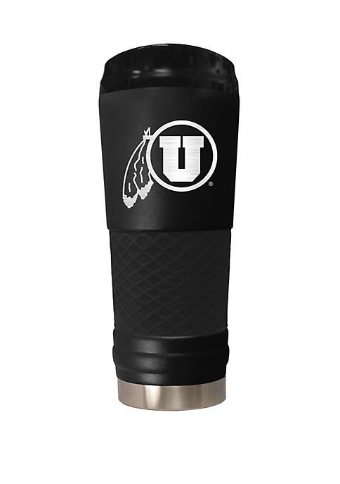NCAA Utah Utes 24 Ounce Stealth Draft Tumbler