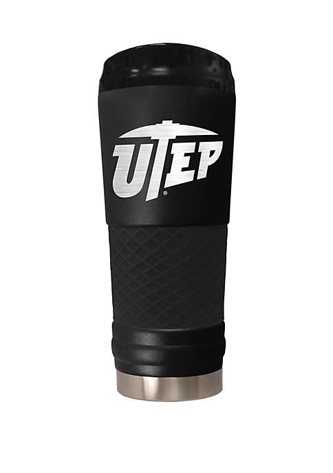 NCAA UTEP Miners 24 Ounce Stealth Draft Tumbler