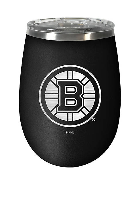NHL Boston Bruins 12 Ounce Stealth Wine Tumbler