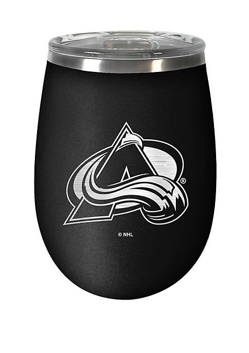 NHL Colorado Avalanche 12 Ounce Stealth Wine Tumbler