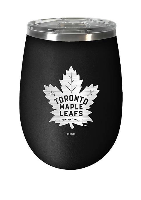 NHL Toronto Maple Leaf 12 Ounce Stealth Wine Tumbler