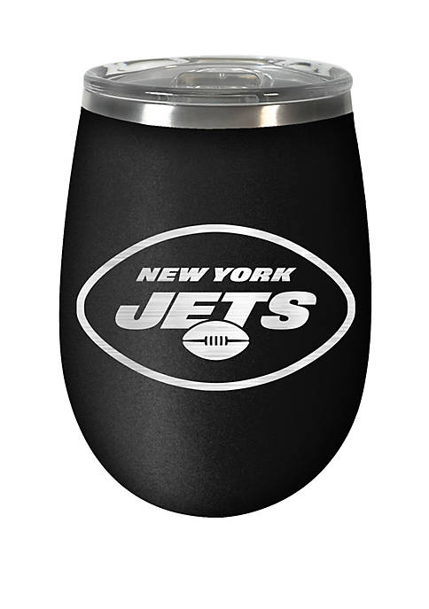 NFL New York Jets 12 Ounce Stealth Wine Tumbler